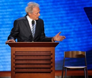 Clint Eastwood at the Republican National Convention, 8/30/12